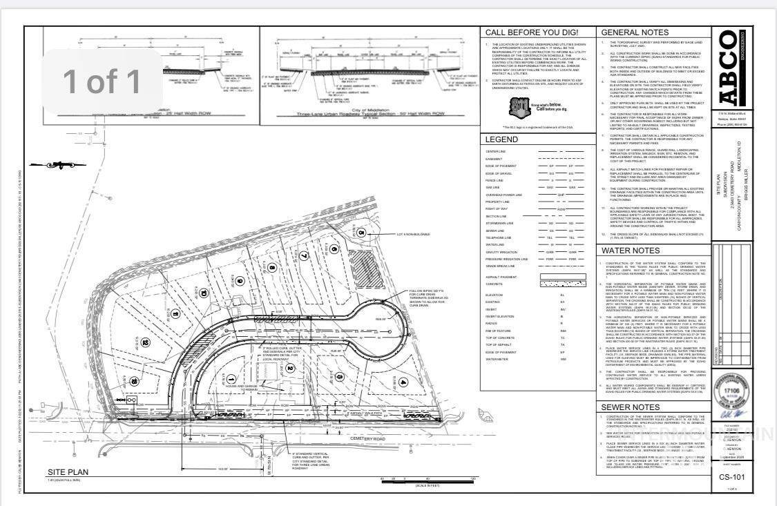 Development for Sale at Middleton, Idaho 83644