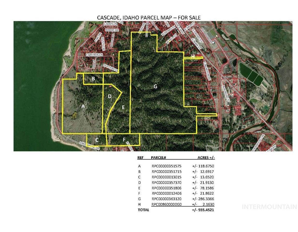 Land for Sale at Cascade, Idaho 83611