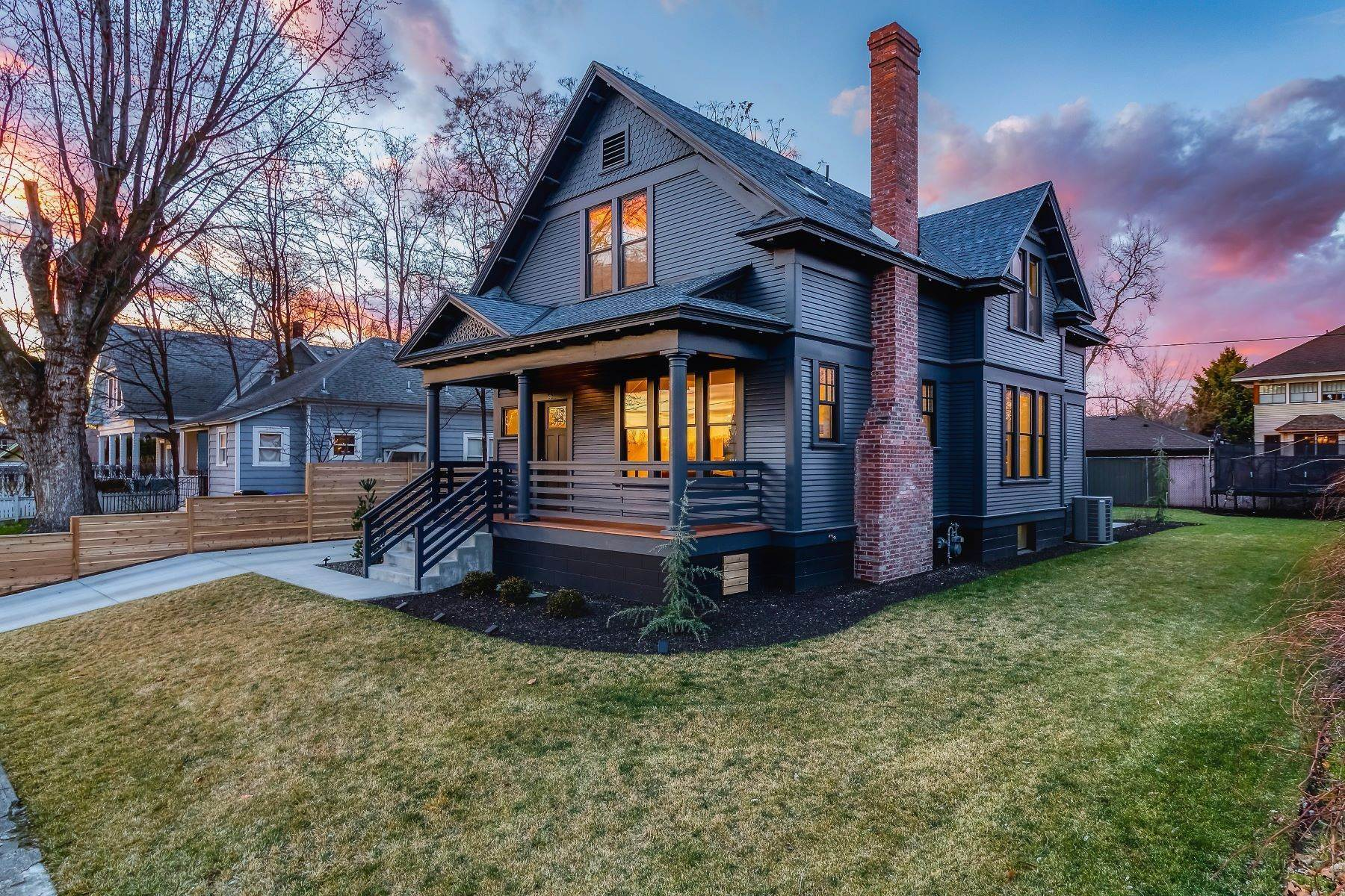 Single Family Homes for Sale at Rejuvenated Historic Home 531 Newell Street Walla Walla, Washington 99362