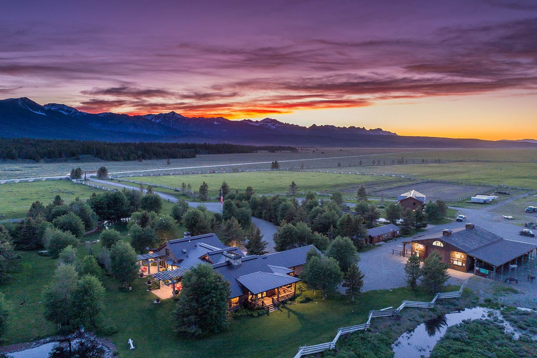 Farm and Ranch Properties for Sale at Busterback Ranch A Century In the Making 9 Busterback Ln Stanley, Idaho 83278