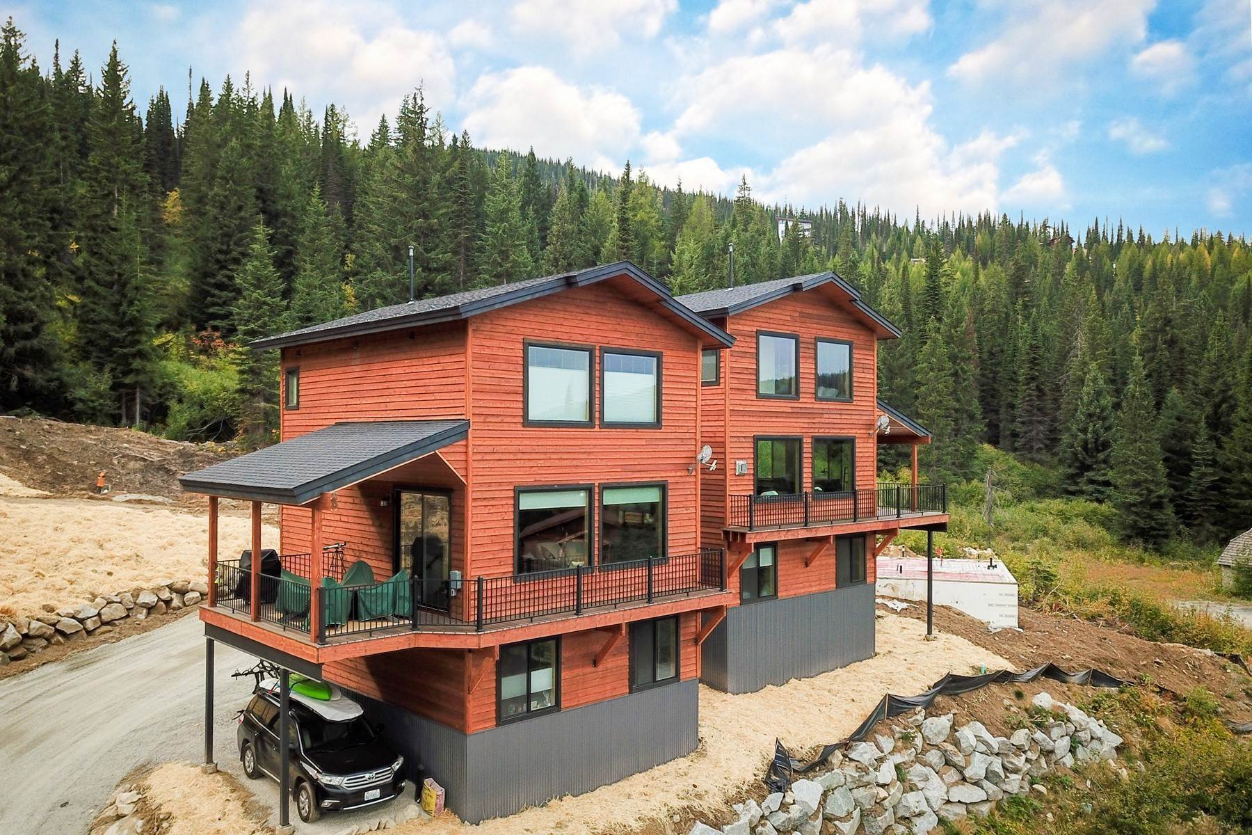 Single Family Homes for Sale at Schweitzer Mountain Getaway Lot 14 Harrison Lane Sandpoint, Idaho 83864